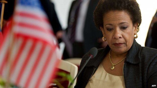US Attorney General Loretta Lynch, 2 June