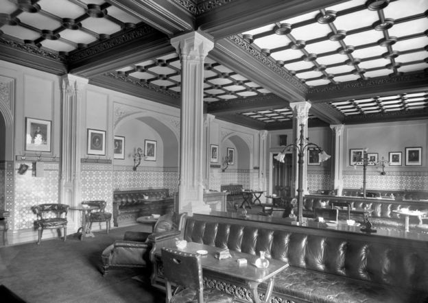 House of Commons Smoking Room 1910
