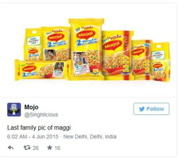 marketing report on maggi nestle Nestlé sa is a swiss transnational food and drink company headquartered in vevey, vaud, switzerland it is the largest food company in the world, measured by revenues and other metrics, since 2014[3][4][5][6][7] it ranked no 64 on the fortune global 500 in 2017[8] and no.