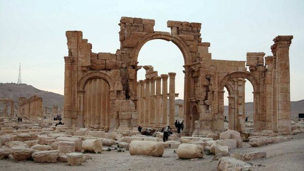 There are fears that the ancient city of Palmyra will be destroyed after it was seized by IS