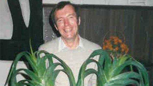 Family photo of David Paterson taken in the 1980s