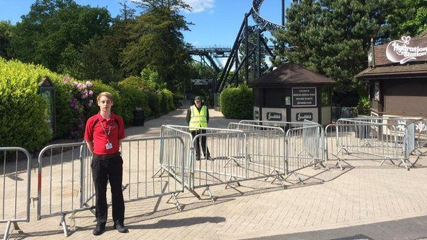 Closed but of Alton Towers