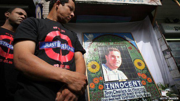 Campaigners for Jean Charles de Menezes