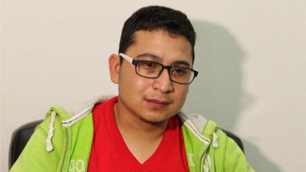 Jobany Torres, mexicano detenido y expulsado de Nicaragua