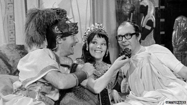 Morecambe & Wise with Glenda Jackson as Cleopatra