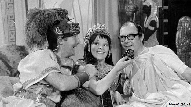 Morecambe & Wise with Glenda Jackson as Cleopatra
