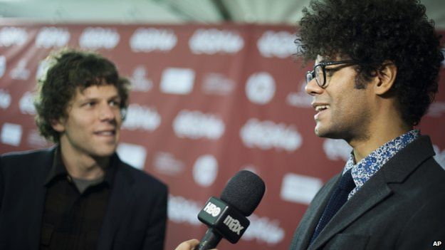Jesse Eisenberg and Richard Ayoade