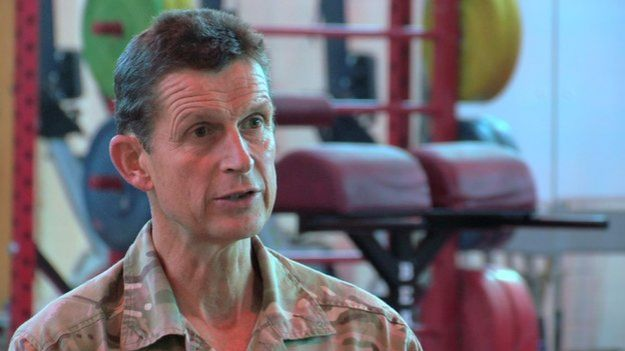 The Army's Director of Personal Services, Brigadier John Donnelly