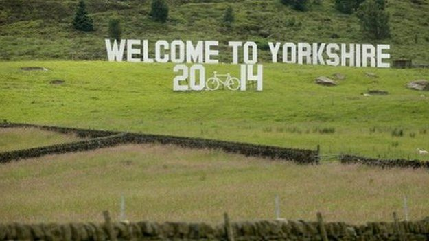 Yorkshire prepares to welcome the 2014 Tour de France
