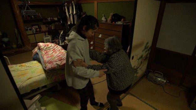 Midori and her grandma