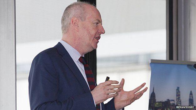Dr Neil Costigan, chief executive of Stockholm-based BehavioSec