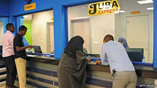 Somali money transfer office