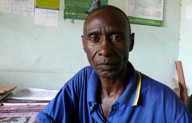 Nyangi's father