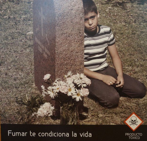 Uruguayan anti-smoking advert 07 April 2015