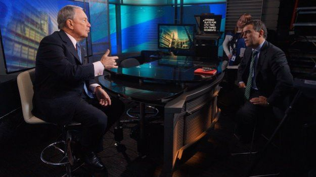 Michael Bloomberg is interviewed by Wyre Davies 07 March 2015