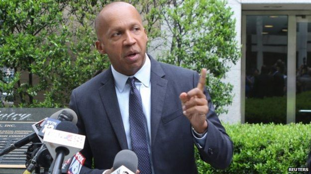 Equal Justice Initiative lawyer Bryan Stevenson