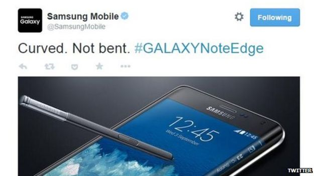 Samsung Sent Out This Tweet Last September