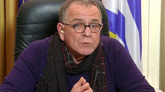 Greek migration minister Yiannis Mouzalas