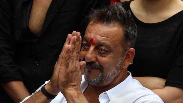 Sanjay Dutt at his home in Mumbai, India.