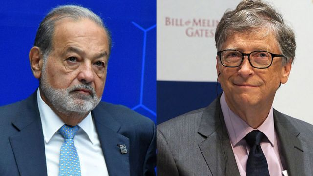 Carlos Slim y Bill Gates