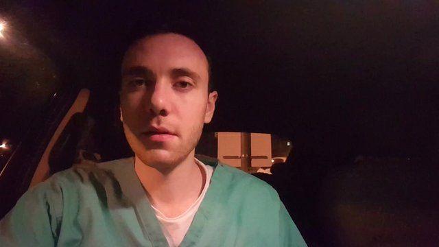 Gavin Brittain, junior doctor