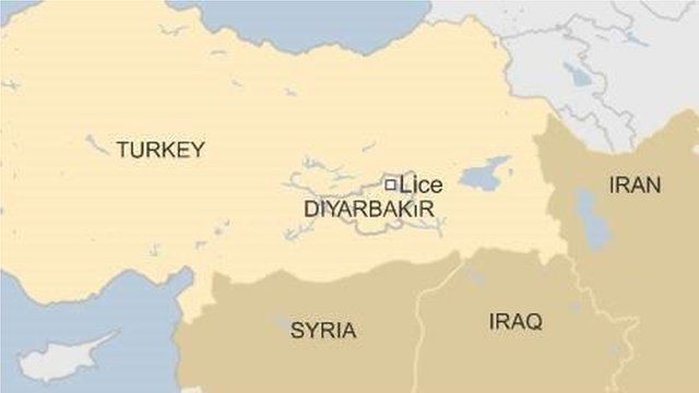 Map of Lice