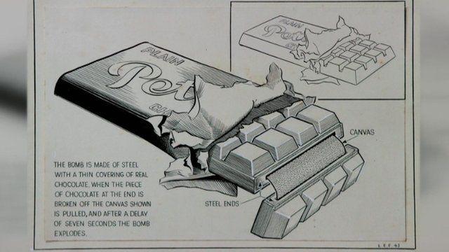 Design of an exploding chocolate bar