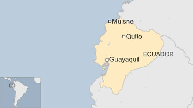 Ecuador earthquake of 7.8 magnitude kills dozens