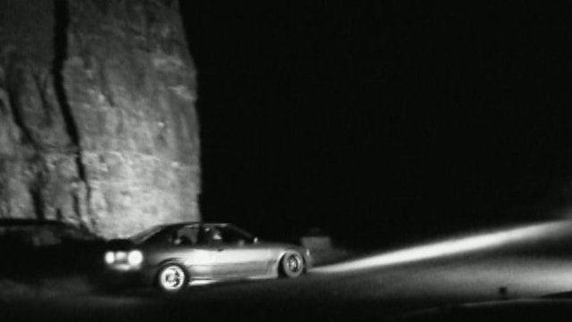 Drifting in Cheddar Gorge