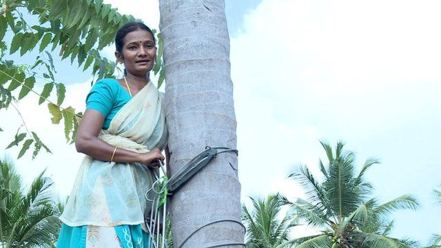 Coconut picker Bharathi