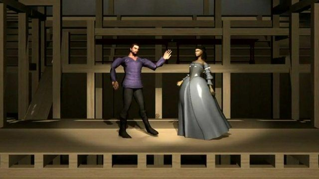Shakespeare characters in virtual reality video game