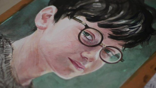 Harry Potter Book Jim Kay : Harry potter and friends made over by artist jim kay bbc