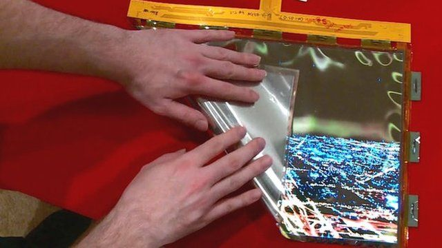 LG's foldable OLED display