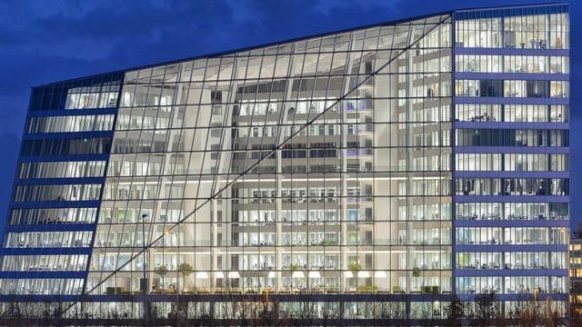 Tomorrow's buildings: Is world's greenest office smart?
