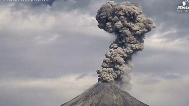how to make a model volcano erupts with ash