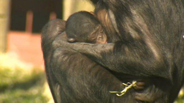 Kianga with her baby boy
