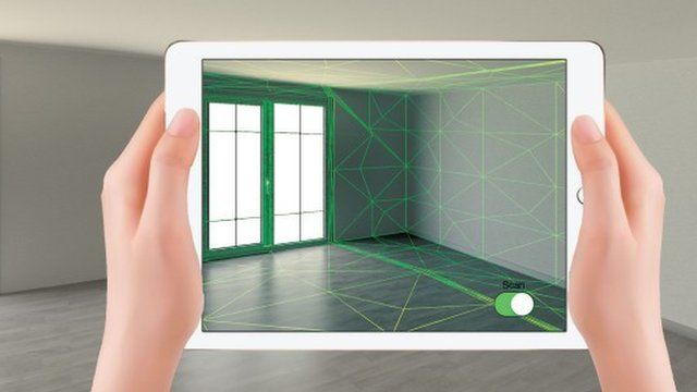 ces 2016 mycaptr app 3d scans homes using an ipad bbc news