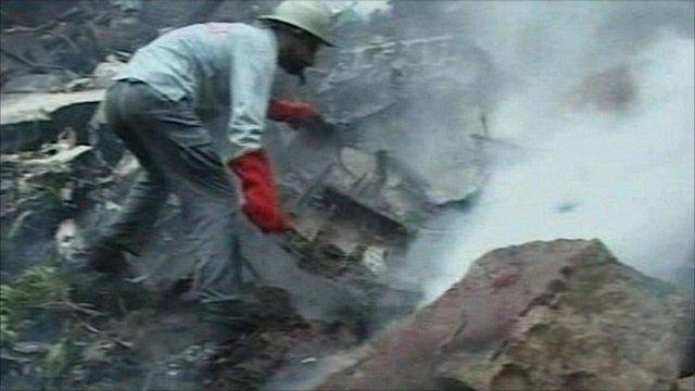 Pakistan plane crash aftermath