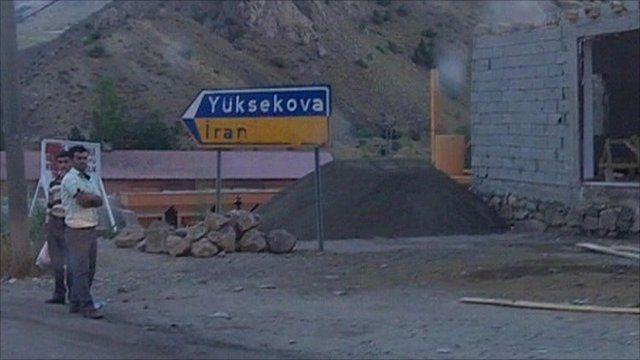 Turkey/Iranian border