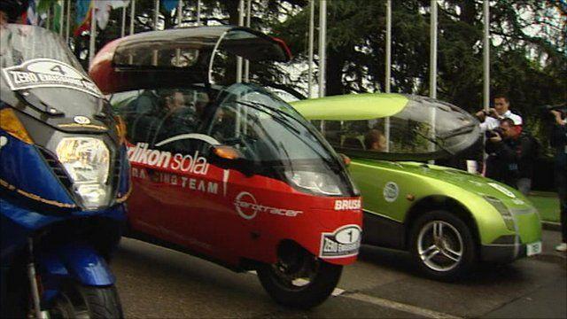 Solar powered cars
