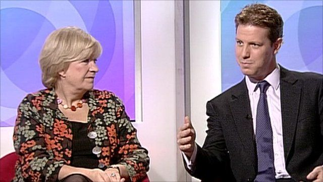 Polly Toynbee and Fraser Nelson