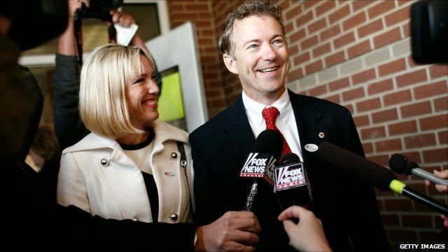 Kentucky Republican Senator-elect Rand Paul