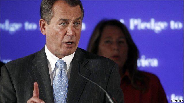Ohio representative John Boehner