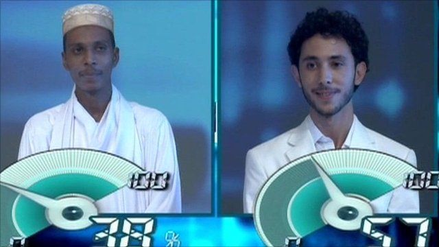 Contestants on Stars of Science