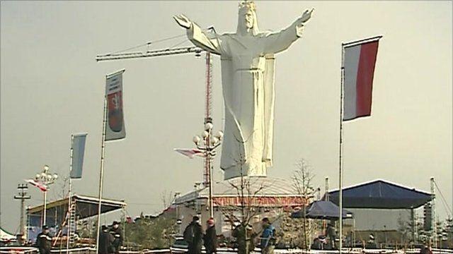 Poland's statue of Jesus