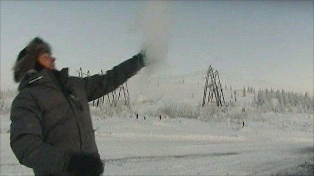 Omyakon, Siberia