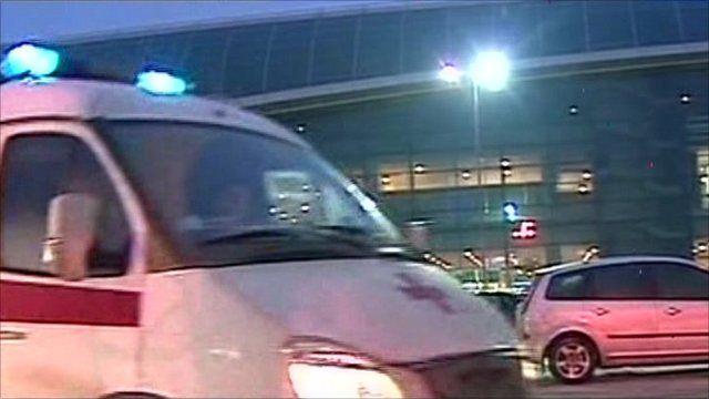 Ambulance at airport
