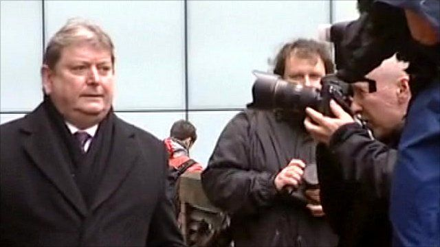 Eric Illsley arrives at Southwark Crown Court