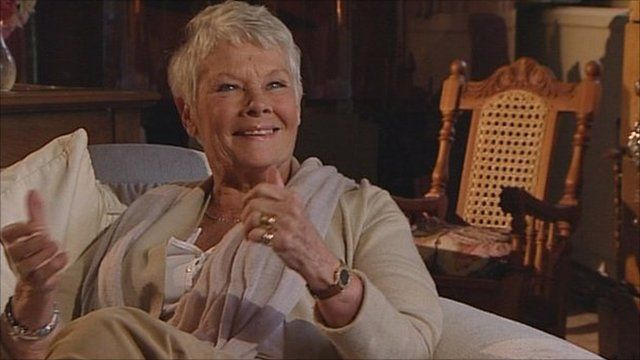 Dame Judi Dench on the Andrew Marr Show