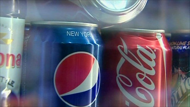 Fizzy drink cans